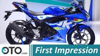 5. Suzuki GSX R150 ABS 2018 | First Impression | Tambah ABS, Berapa Harganya? | OTO.com