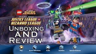 LEGO DC Comics Super Heroes: Justice League Vs Bizarro League Unboxing and Review