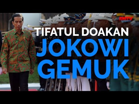 Tifatul Doakan Jokowi Gemuk