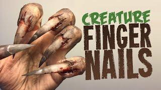 Video Creature Nails SFX makeup tutorial MP3, 3GP, MP4, WEBM, AVI, FLV November 2017