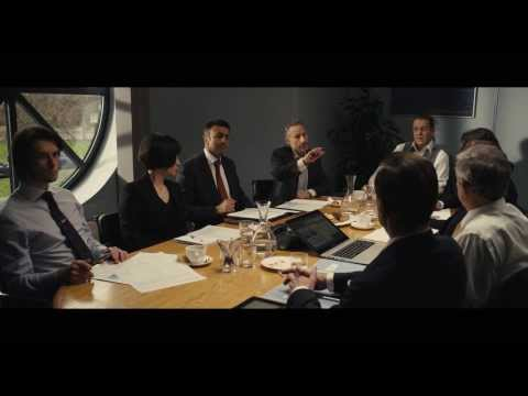Alan Partridge: Alpha Papa (Clip 'Interrupts the Meeting')
