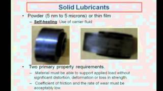 Mod-04 Lec-15 Lubricant Classifications