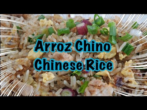 Arroz Chino Frito - Cómo Hacer Arroz A Lo Cubano - Cuban Fried Chinese Rice