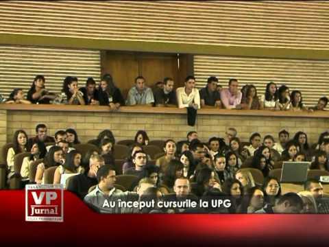 Au început cursurile la UPG
