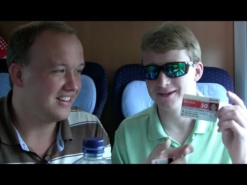germany - Alex and Jim are on the train towards Berlin and talk about the Deutsche Bahn. Enjoy! Subscribe to Germany vs USA on YouTube http://bit.ly/GERvsUSA_Subscribe...