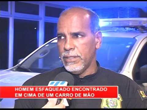 [RONDA GERAL] Homem esfaqueado é encontrado em carro de mão