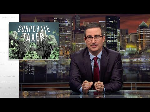 John Oliver on Corporations Dodging Taxes