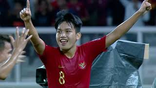 Video Indonesia 1-0 United Arab Emirates (AFC U19 Indonesia 2018 : Group Stage) MP3, 3GP, MP4, WEBM, AVI, FLV Desember 2018