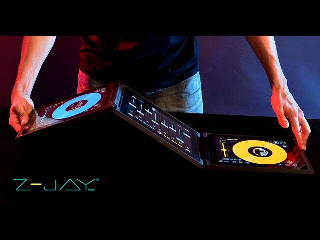 Z JAY Tablet - The Future of Portable DJing