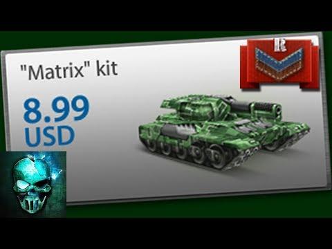 Tanki Online - Matrix Kit at Recruit!   Kits at Recruit #4   танки Онлайн