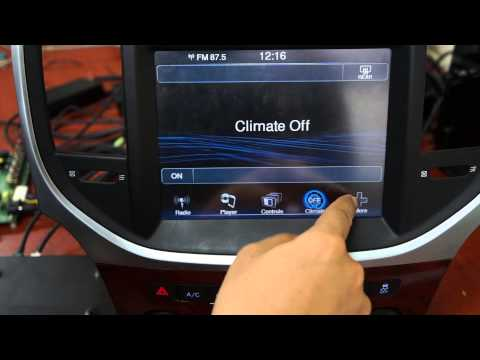 Chrysler 300C GPS Interface