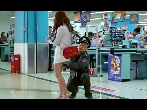 Bảo vệ siêu thị sàm sở gái xinh và cái kết cực thốn