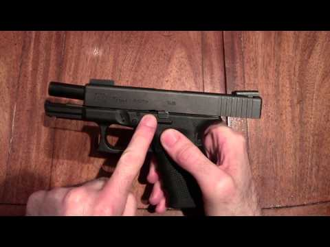 Firearms Tips and Techniques for Beginners: Basic Parts of a Semiautomatic Pistol