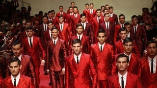 Dolce&Gabbana Spring Summer 2015 Mens Fashion Show Milan Fashion Week HD