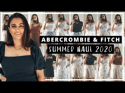 ABERCROMBIE SUMMER HAUL 2020 | ABERCROMBIE & FITCH TRY ON HAUL | ABERCROMBIE HAUL SUMMER MIX & MATCH
