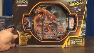 Opening a Charizard GX Case File! (Pokemon: Detective Pikachu TCG) by SkulShurtugalTCG