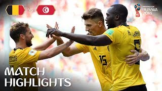 Video Belgium v Tunisia - 2018 FIFA World Cup Russia™ - Match 29 MP3, 3GP, MP4, WEBM, AVI, FLV September 2018