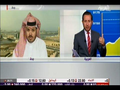 لقاء المحلل الفني بن فريحان في نبض السوق بقناة العربية الاثنين 6-7-2015