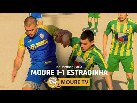 Moure 1-1 Estradinha - MOURE TV (видео)
