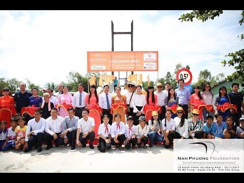 Khánh Thành Cầu Khang Nhật | Xã Mỹ Trung, huyện Cái Bè, tỉnh Tiền Giang