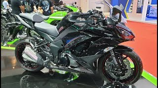 5. Kawasaki Ninja 1000 ABS   Black / Gray  