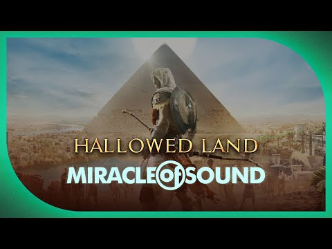 Assassin's Creed: Origins Song - Hallowed Land by Miracle of Sound (Epic Symphonic Rock)
