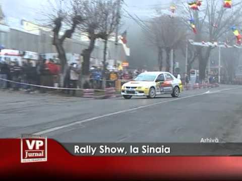 Rally Show, la Sinaia