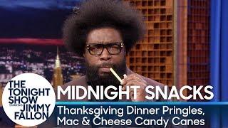 Video Midnight Snacks: Thanksgiving Dinner Pringles, Mac & Cheese Candy Canes MP3, 3GP, MP4, WEBM, AVI, FLV Desember 2018