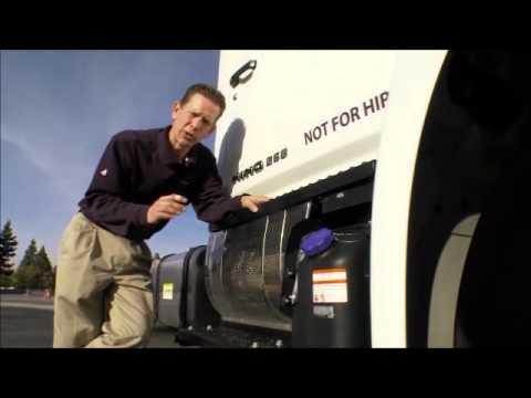 Hino 2011 MY Emissions system