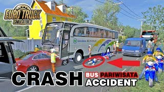 Video Yang Ga Kuat Jangan Tonton Video Ini !!! Crash Accident Bus Pariwisata MP3, 3GP, MP4, WEBM, AVI, FLV November 2018