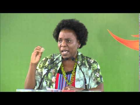 Ms. Beka Ntsanwisi - Radio presenter, South Africa - Speaker, IWC 2014