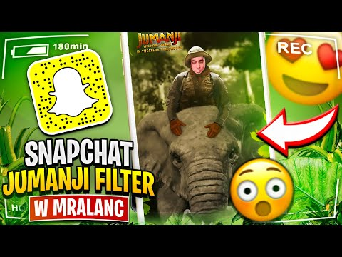 Snapchat Jumanji Filter W MrAlanC