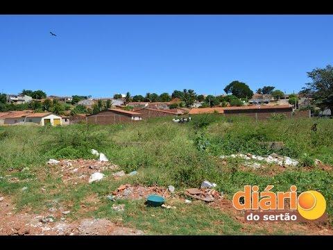 Praças abandonadas em São José de Caiana-PB