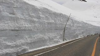 Kurobe Japan  city pictures gallery : Japan Central Trip (2016 April) - Kurobe Alpine Route / Snow Wall 雪の大谷