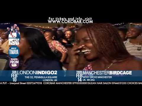 """BOVI"" Women like batteries - African Kings of Comedy - Valentine 2013 Tkts: www.cokobar.com"