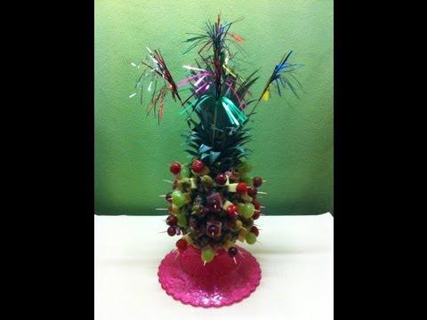 Receta anan pi a festivo navidad a o nuevo y fiestas la cocinadera - Pinas decoradas para navidad ...