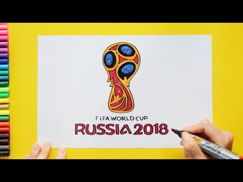 How To Draw FIFA World Cup 2018 Logo