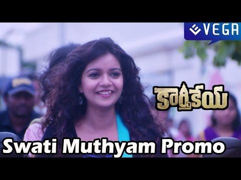 Karthikeya Movie - Swati Muthyam Promo Song - Nikhil Siddhartha, Swathi - Latest Telugu Movie 2014
