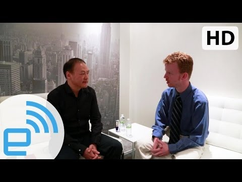 HTC CEO Peter Chou On The New HTC One | Engadget