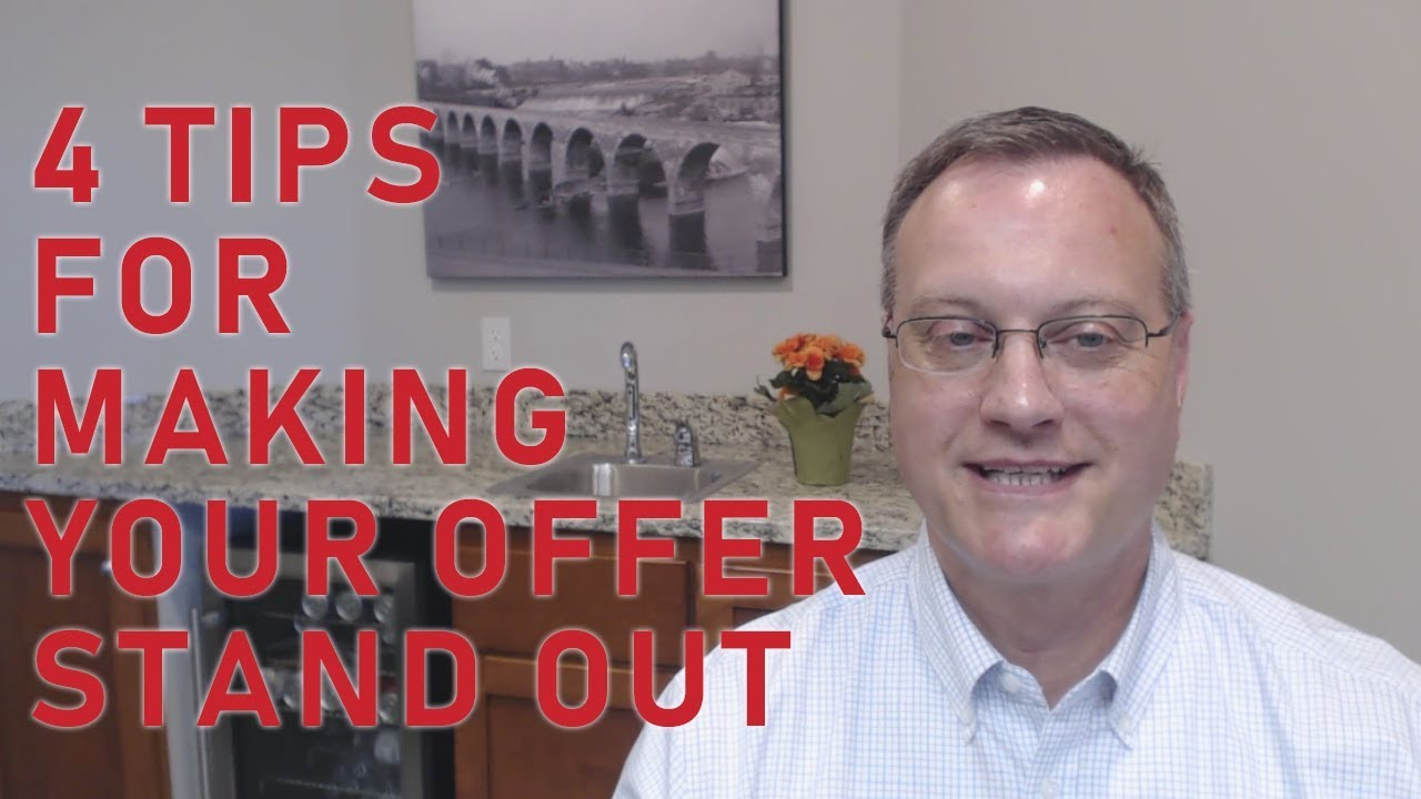 Beefing Up Your Offer in This Competitive Market