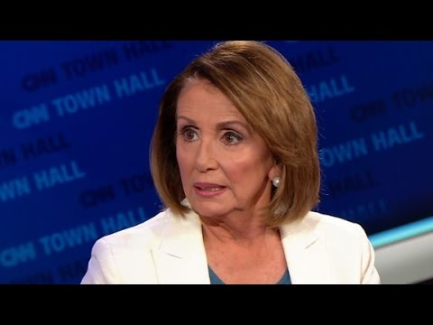 Nancy Pelosi talks about report on Trump and Russia