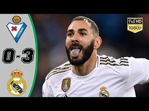 Real Madrid vs Eibar 3-0 All Goals & Extеndеd Hіghlіghts - 2019