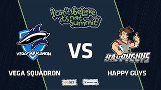 Vega Squadron vs Happy Guys, Game 2, Group Stage, I Can't Believe It's Not Summit