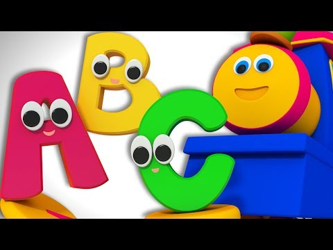 Alphabet Adventure | Learn English | ABC Train Song | Learning Street with Bob the Train