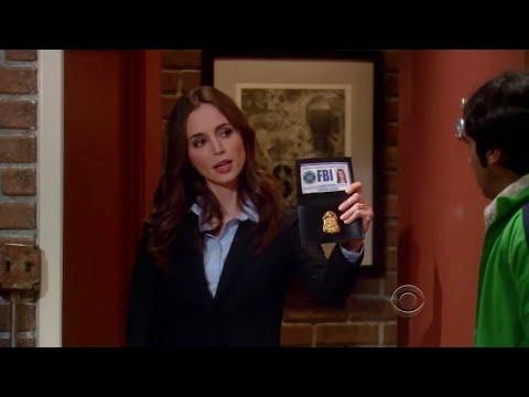 The Big Bang Theory - Rajesh meets FBI agent Eliza Dushku