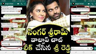 Video Sri Reddy Leaked Whatsapp Chat Of Singer Sriram | Sri Reddy About Singer Sriram Fb Live Viral |#3in1 MP3, 3GP, MP4, WEBM, AVI, FLV Juli 2018