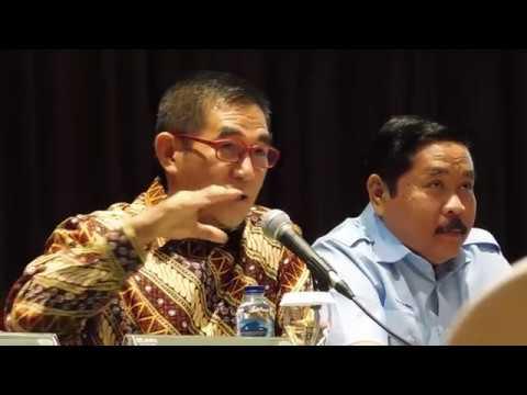 Konferensi Pers Kuasa Hukum PT KBN Persero Hamdan Zoelva
