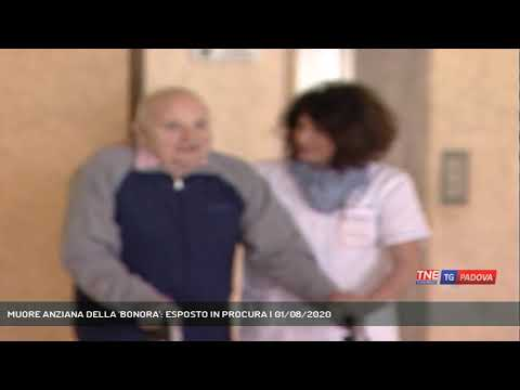 MUORE ANZIANA DELLA 'BONORA': ESPOSTO IN PROCURA | 01/08/2020