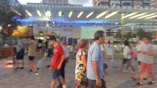 Santa Pola Spain  city images : Santa Pola shopping area at the Marina