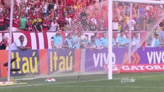 Gols do jogo Flamengo 3 x 0 Cruzeiro - 28ª Rodada Brasileirão 2014 - 12/10/2014.